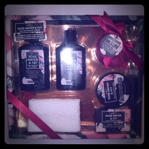 PureSpa 6-pc Bath & Body Care Gift Set, Rose Water